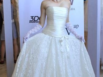 Просмотреть foto  свадебное платье прямого силуэта 40053940 в Москве