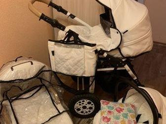 Коляска Carino 3 в 1 смотреть Заозерный 6А все характеристики и обзоры в интернете ,в наборе сумка для мамы,дождевик,подушка в люльку,москитки нетСостояние: Б/у в Кургане