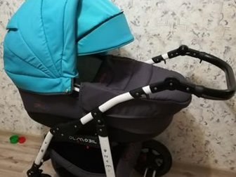 Продам коляску Polmobile Nemo 2 в 1 для ребёнка от 0 до 3 лет,  Состояние хорошее,  В комплекте идет люлька с матрасиком, жестким дном, можно регулировать высоту в Кургане