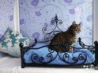 Кровати с элементами художественной ковки