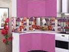 Кухня Ронда 1,45 х 1,45 капри розовая в наличии