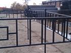 Фотография в Строительство и ремонт Строительные материалы Ритуальные ограды изготавливаются и профильной в Ликино-Дулево 1110