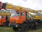 Фото в   Автокран Камаз 25 тонн в аренду Липецк. Автокран в Липецке 0