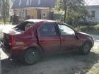 Скачать изображение Аварийные авто Рено Логан 2009г, в, после ДТП, цвет красный, салон не прокурен, на ходу 40445168 в Липецке