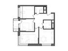 Продается 3-комн. кв-ра площадью 66,36 кв.м на 5 этаже 25 эт