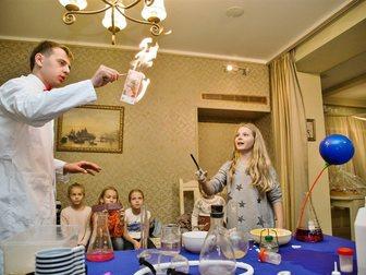 Новое foto  Научное шоу с сухим льдом 34045400 в Москве