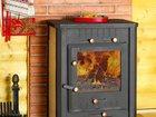 Фото в   Продам печь-каминБавария, чугунная с плитой в Магнитогорске 20000