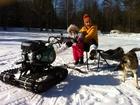 Фото в Авто Снегоходы Приобретая снегоходную приставку отдельно в Магнитогорске 65000