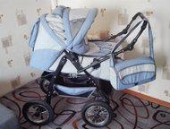 Коляска трансформер Продам новую, очень удобную коляску трансформер, дождевик, м