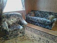 продам диван+кресло продам диван+кресло, б/у