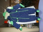 Изображение в Для детей Детская одежда Комбенезон темно-синий с зелеными вставками. в Майкопе 1000