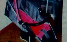 Детская коляска-трансформер 2 в 1 с дождевиком