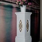 Подставка-колонна для цветов