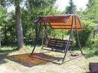 Свежее фотографию Мебель для дачи и сада Садовые, разборные качели в Морозовске 38600253 в Морозовске