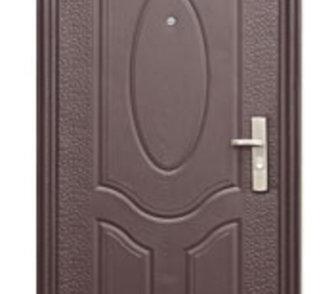Изображение в Строительство и ремонт Строительные материалы Дверь металлическая, с глазком, отделка – в Мосальске 3600