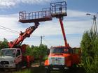 Уникальное foto Грузовые автомобили Аренда автовышки 17-28 м люлька балкон 35478613 в Москве
