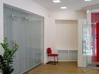 Изображение в Строительство и ремонт Строительство домов Стеклянные перегородки и двери для офисных в Москве 7000