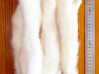 Свежее фото Женская одежда Норковые белые хвостики 37513007 в Москве