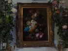 Фото в Прочее,  разное Разное Продается картина с цветами Цветы в терракотовой в Москве 250000