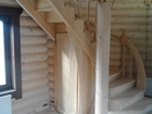 Изображение в Прочее,  разное Разное Лестницы из любых пород дерева (сосна, ясень, в Москве 0