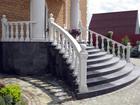 Уникальное фотографию Строительство домов Лестницы из натурального камня 38440220 в Москве