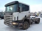 Скачать бесплатно фотографию Бескапотный тягач Scania Р114 38630772 в Москве