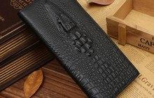Мужское портмоне из натуральной кожи Wild Alligator