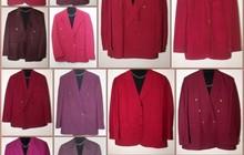 Коллекция малиновых пиджаков 90-х