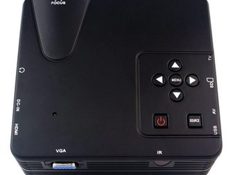 Скачать foto Другая техника Мультимедийный мини-проектор мод, H100 ( AV VGA SD USB HDMITV) 32624340 в Москве