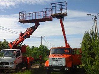 Увидеть foto Грузовые автомобили Аренда автовышки 12-28 м большая люлька-балкон 33139779 в Москве