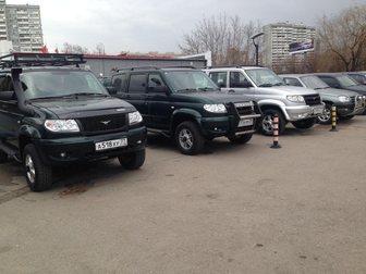 Внедорожник УАЗ в Москве фото