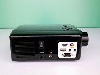 Новое фотографию  RuiQ SV-856 60W светодиодный мультимедийный 3D-проектор (VGA HDMI AV TV USB) 33318251 в Москве