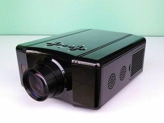 Смотреть изображение  RuiQ SV-856 60W светодиодный мультимедийный 3D-проектор (VGA HDMI AV TV USB) 33318251 в Москве