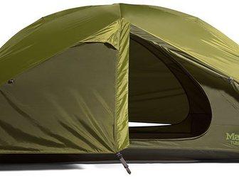 Скачать бесплатно фото Товары для туризма и отдыха Палатка Marmot Tungsten 2P (зеленая) 33743430 в Москве