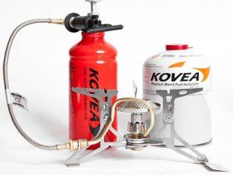 Скачать фотографию Товары для туризма и отдыха Мультитопливная горелка Kovea Dual Max (газ, бензин) 33743481 в Москве