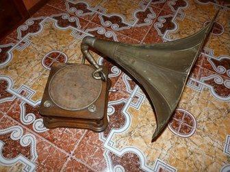Уникальное фотографию Антиквариат Продам старинный Граммофон 34520593 в Москве
