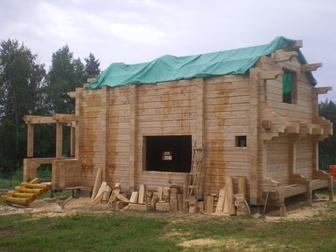 Уникальное foto Строительство домов Дома из профилированного бруса 59604060 в Moscow