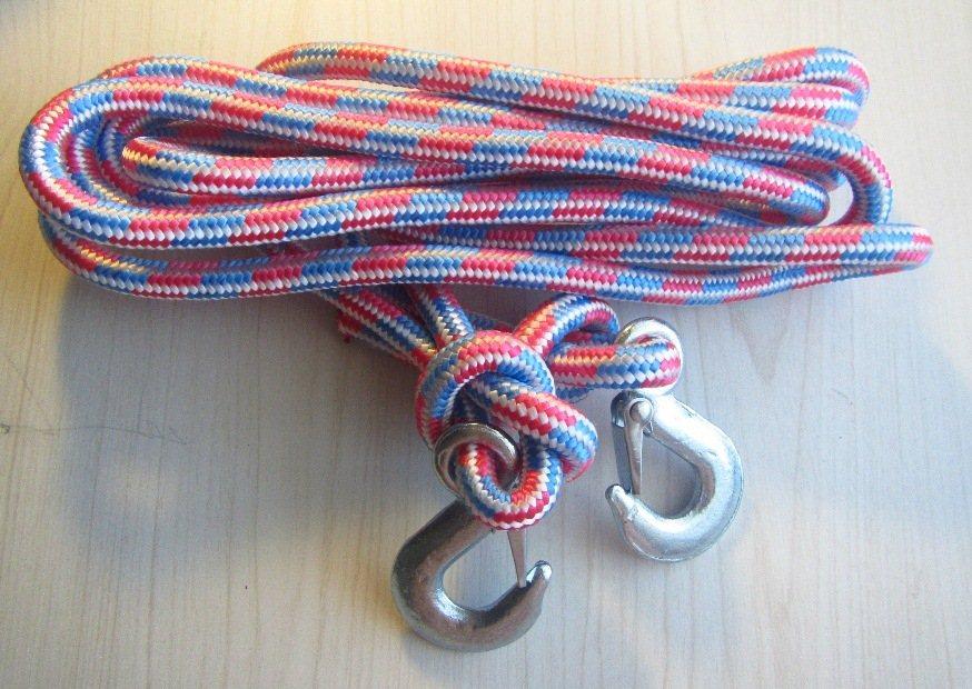 Буксировочный трос из веревки своими руками 75
