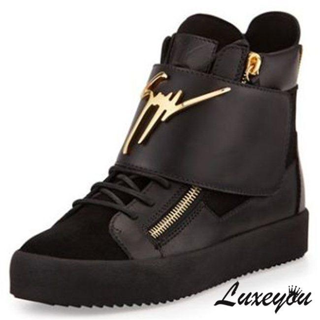 bf184f72 ... Свежее фото Мужская обувь Мужские сникерсы Giuseppe Zanotti High-Top  33290902 в Москве ...