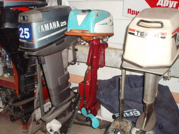 ремонт лодочных моторов в артеме