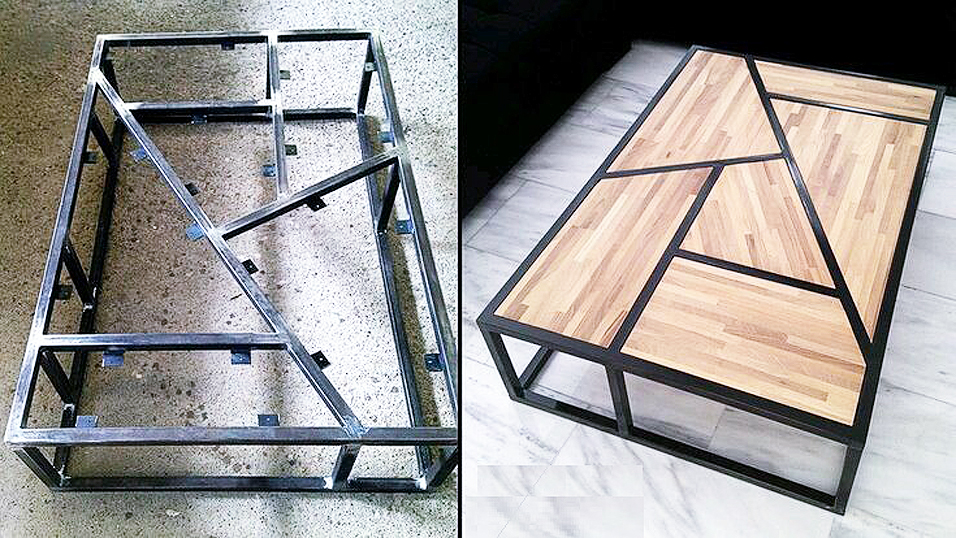 Металлический каркас для мебели своими руками 25