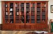 Мы изготавливаем книжные шкафы любой формы,