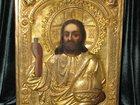 Новое foto  ИКОНА Исус Христос Вседержитель конец 18 начало19 века 32662090 в Новороссийске