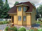 Скачать фото  Продается дом из бруса по проекту «Фаворит» 34468693 в Москве