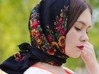 Смотреть фотографию  Платок в русском стиле 100Х100 см 37588511 в Москве