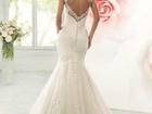 Фотография в Одежда и обувь, аксессуары Свадебные платья Шикарное, кружевное свадебное платье облегающего в Москве 32000