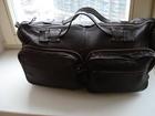 Увидеть изображение Мужская одежда Продам кожаную сумку темно-коричневого цвета 37804628 в Москве