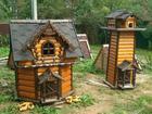 Свежее фотографию  Резные домики для колодцев, Колодцы Можайск, Загородное водоснабжение, 37805420 в Астрахани