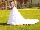 Уникальное фото Свадебные платья Продаю красивое свадебное платье А-силуэта 37854610 в Москве