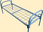 Смотреть фото Мебель для спальни Кровати металлические для обстановки небольших помещений, вагончиков рабочих 38405103 в Иркутске